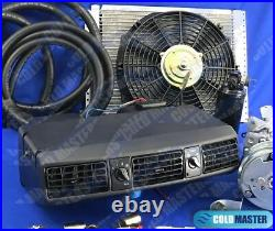A/C KIT UNIVERSAL UNDER DASH EVAPORATOR 202 PV8 12X16 COND with ELECTRIC HARNESS