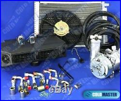 A/C-KIT UNIVERSAL UNDER DASH EVAPORATOR 404-1 12V With ELECTRICAL HARNESS