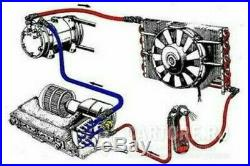 A/C-KIT UNIVERSAL UNDER-DASH EVAPORATOR 404-G-12V With ELECTRICAL HARNESS