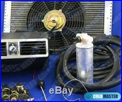 A/C KIT UNIVERSAL UNDER-DASH EVAPORATOR 404 SILV With ELECTRICAL HARNESS