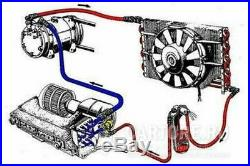 A/C KIT UNIVERSAL UNDER DASH EVAPORATOR 406S 12V With ELECTRICAL HARNESS