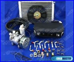 A/C KIT UNIVERSAL UNDER DASH EVAPORATOR 432 12X16in COND With ELECTRICAL HARNESS