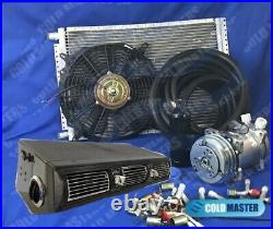 A/C KIT UNIVERSAL UNDER DASH EVAPORATOR 450 KIT WithSIDE VENTS & ELECTRIC HARNESS