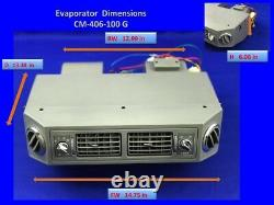 A/C KIT UNIVERSAL UNDERDASH EVAP. HEAT/COOL 406 NO COMPRESSOR with electric Harn