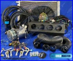 A/C KIT UNIVERSAL UNDERDASH EVAPORATOR 404-0FBSL NEW With ELECTRICAL HARNESS