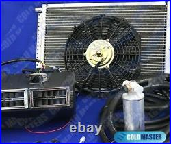 A/C-KIT UNIVERSAL UNDERDASH EVAPORATOR 404-3C 12V With ELECTRICAL HARNESS
