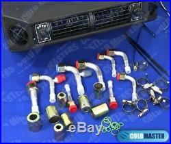 A/C-KIT UNIVERSAL UNDERDASH EVAPORATOR 404V HEAT & COOL With ELECTRICAL HARNESS