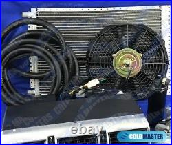 A/C-KIT UNIVERSAL UNDERDASH EVAPORATOR 405ALUM 12V With ELECTRICAL HARNESS