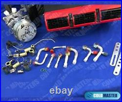A/C-KIT UNIVERSAL UNDERDASH EVAPORATOR 405RED 12V With ELECTRICAL HARNESS