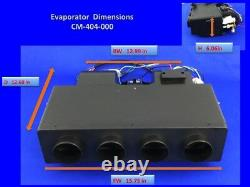 A/C-KIT UNIVERSAL UNDERDASH EVAPORATOR NEW 404-000BSL H/C With ELECTRICAL HARNESS