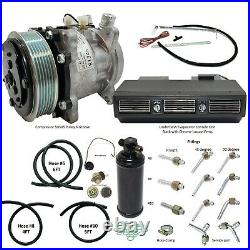 A/C Universal Kit Underdash Deluxe, Compressor 505 6P, Fittings, Drier & Hoses