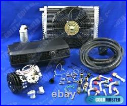 A/c Universal Underdash 202 Evaporator 7b10 Comp 14x20 Cond & Electrical Harnnes