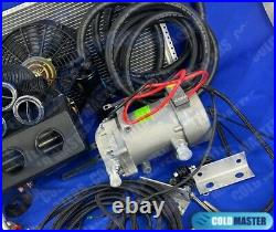 A/c-kit Universal Underdash Evaporator 432-000fc 14x20 With Electric Compressor