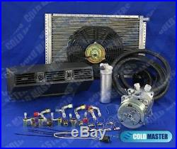 A/c-kit Universal Underdash Evaporator Heat Cool 404n / With Electric Harness