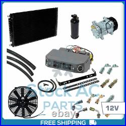 Brand New A/c Kit Universal Under Dash Compressor Kit Heat And Cool 12v