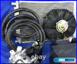 NEW A/C KIT UNIVERSAL UNDER-DASH EVAPORATOR 404-F-12V With ELECTRICAL HARNESS