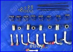 - NEW A/C KIT UNIVERSAL UNDERDASH EVAPORATOR 450 V & ELECTRIC HARNESS 14X25 cond