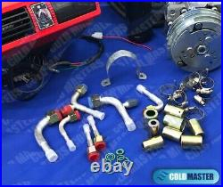 New A/c Kit Universal Underdash Evaporator 404 1red 12v & Electric Harness