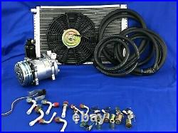 UNIVERSAL UNDERDASH AIR CONDITIONER 12V 450-AB WithElec Harn 5B