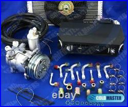 UNIVERSAL UNDERDASH AIR CONDITIONER 432 14X20 Cond. WITH NEW ELECTRIC HARNESS