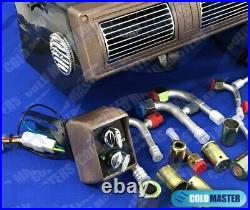 Underdash Air Conditioner Universal A/c Kit450-1a 5v Brw With Elec. Harness