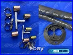 Universal Underdash Air Condition Kit 2 Evap 450 24v Front H/c Humvees Ideal