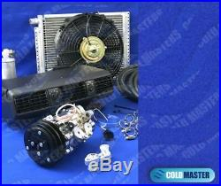 Universal Underdash Air Conditioner 202-1 12v & Electric Harness 12x16 Cond
