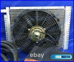 Universal Underdash Air Conditioning A/C KIT 432-0-7B10-12x16 COND EXTRA HOSE