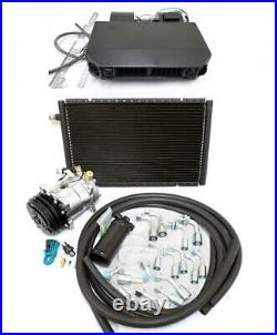 Universal Underdash Air Conditioning AC Heat Cool Evaporator Kit Fittings Hoses