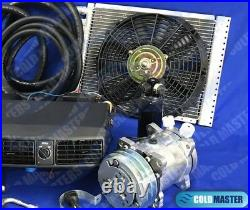 Universal Underdash Air Conditioning KIT 202 12X16 CONDENSER with ELECTRIC HARNESS