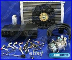 Universal Underdash Air Conditioning KIT A/C 202 COMP 505 IDEAL VW BEETLE /HOSES