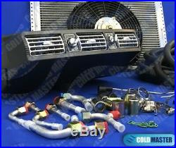 Universal Underdash Air Conditioning KIT404 ALUM With ELECTRICAL HARNESS