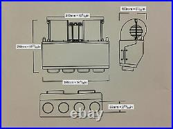 Universal Underdash Air Conditioning Kit with NO compressor 404-000DC H/C